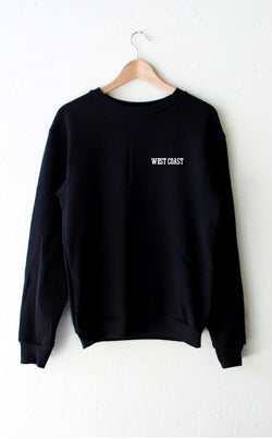 NYCT Clothing West Coast Sweatshirt - Black