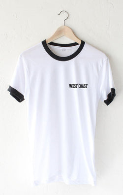 West Coast Ringer Tee