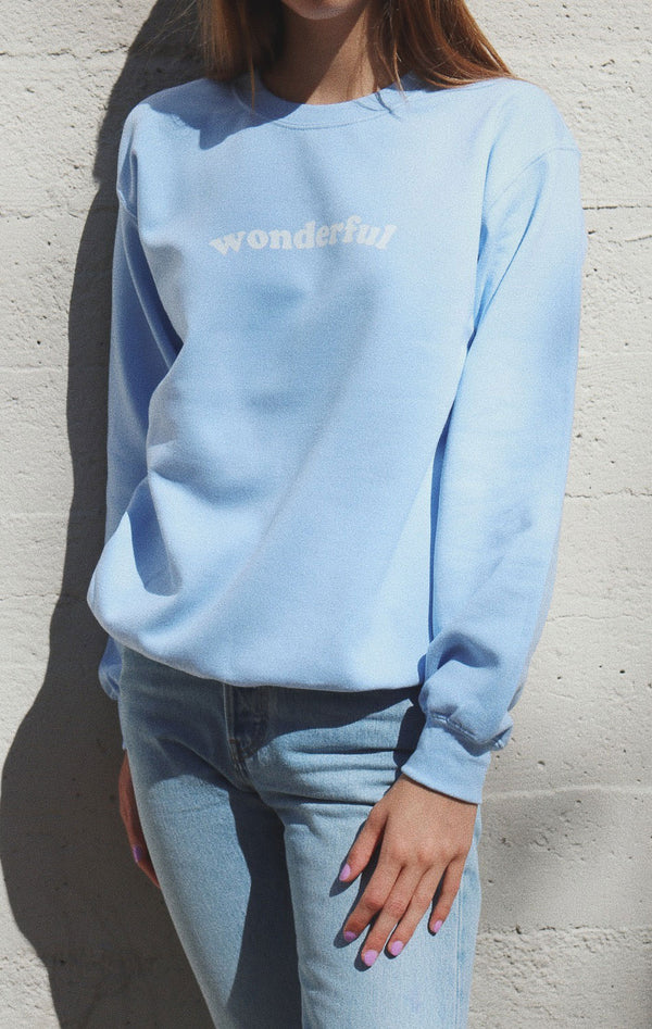 NYCT Clothing Wonderful Oversized Sweatshirt
