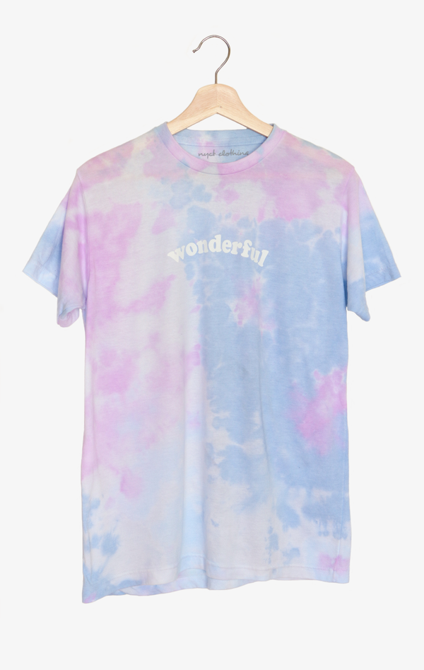 NYCT Clothing Wonderful Tie Dyed Tee