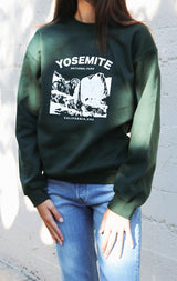 NYCT Clothing Yosemite National Park Sweatshirt - Green