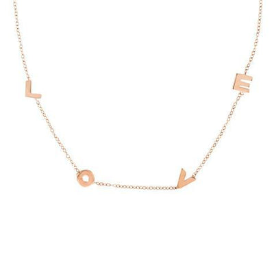 14K Love Spaced Necklace Maya J MG906L