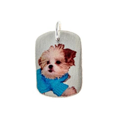 14K Photo Imaging Dog Tag Maya J MGITAG