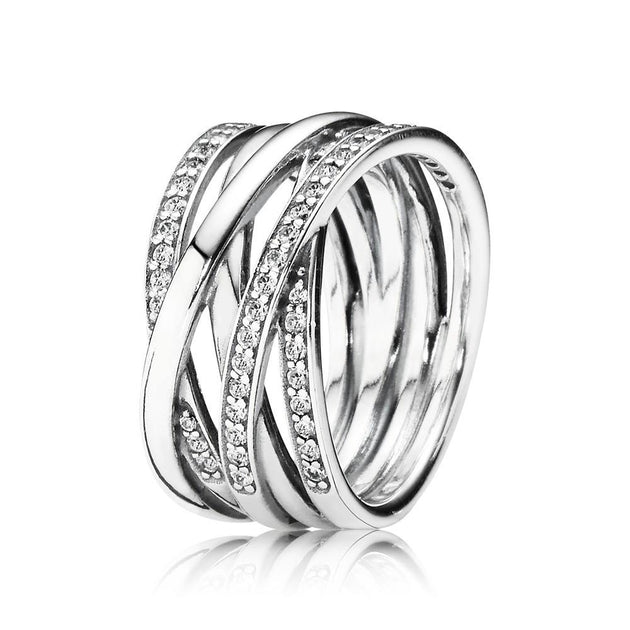 Entwined, Clear CZ
