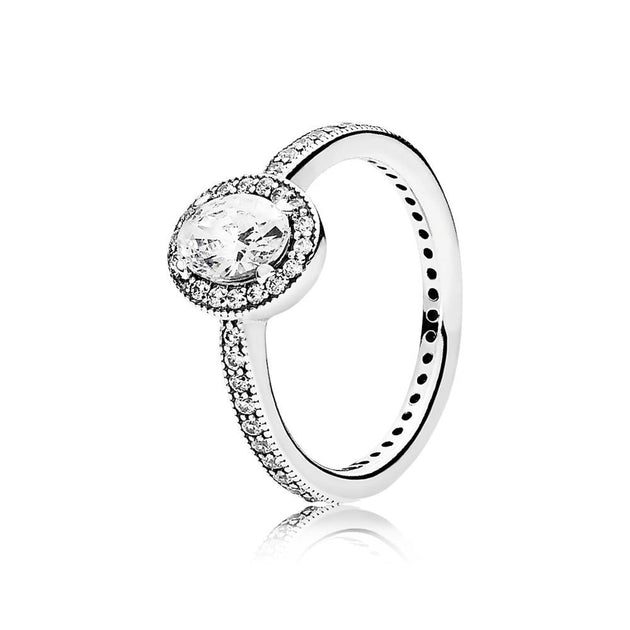 Ring Vintage Elegance with Clear CZ