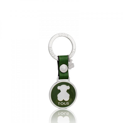 Circle Bear Keychain, Tous, Accessories