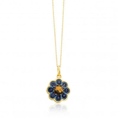 Gold and Titanium View Necklace, Tous