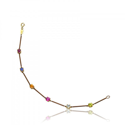 Gold and Titanium Mix Titanio Bracelet, Tous