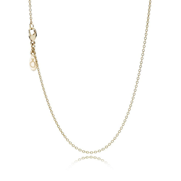 Delicate Gold Chain, 45 cm / 17.7in