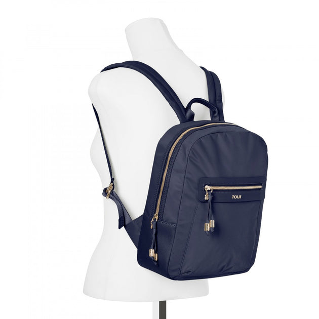 Brunock Chain Canvas Backpack in Color, TOUS, Handbags