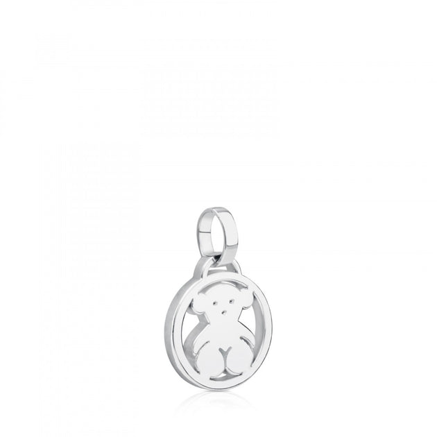 Camille Pendant in Silver, Tous