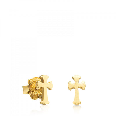 Vermeil Silver Idol Tradition Earrings, Tous
