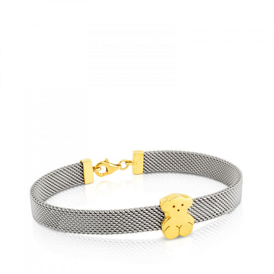 Gold and Steel Sweet Dolls Bracelet, Tous