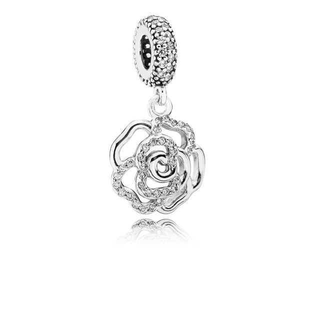 Shimmering Rose, Clear CZ