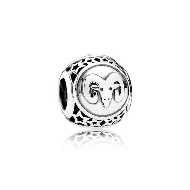 Charm Openwork Aries Star Sign