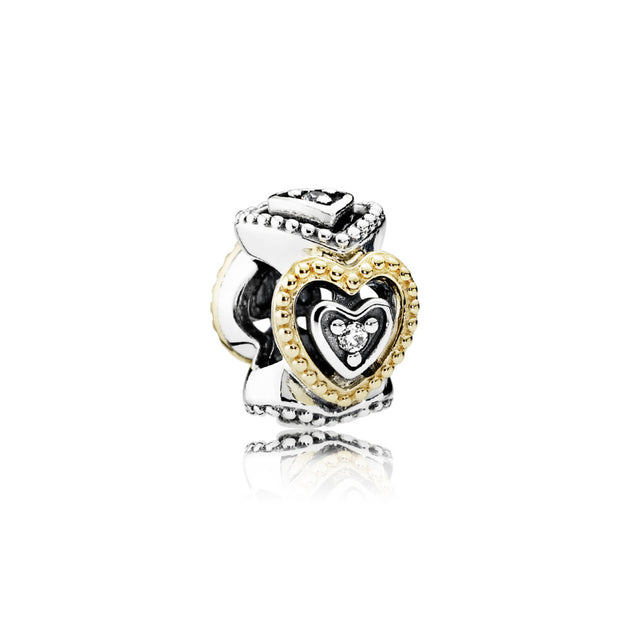 Spacer Celebration of Love with Clear Cubic Zirconia