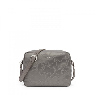 Silver Canvas Kaos Arrow Crossbody bag