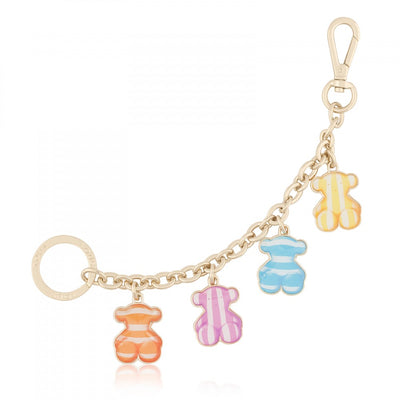 Multicolor Candy Chain Key Ring, Tous, Accessories