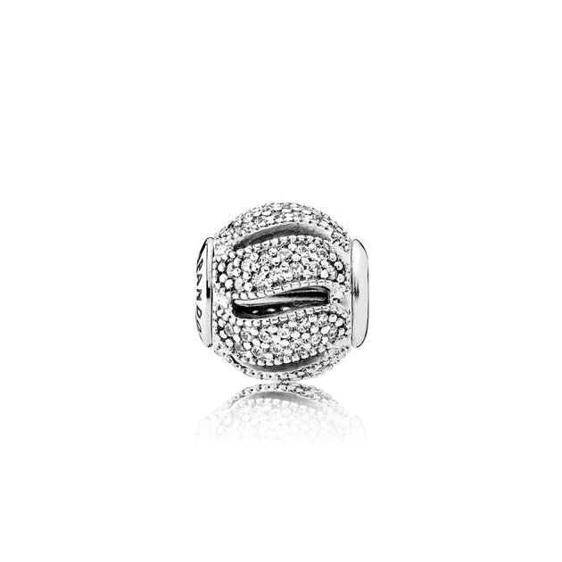 PANDORA ESSENCE COLLECTION Charm Loyalty with Clear Cubic Zirconia