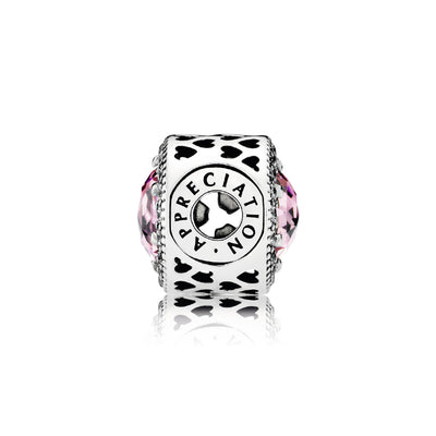 APPRECIATION ESSENCE COLLECTION with Pink Cubic Zirconia