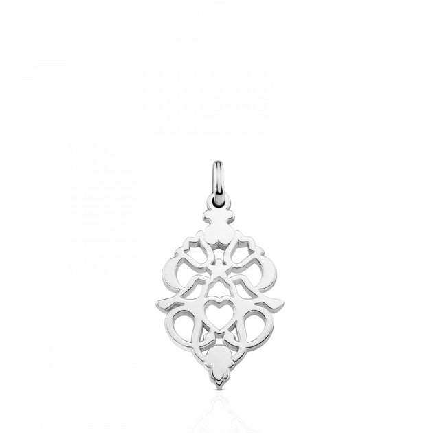 Small silver motif power pendant intuition jewelry intuition small silver motif power pendant mozeypictures Image collections