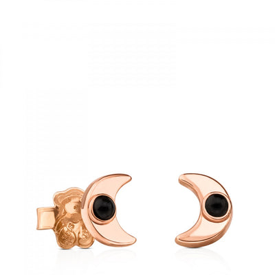 Rose Vermeil Silver Super Power Earrings with Spinel, Tous