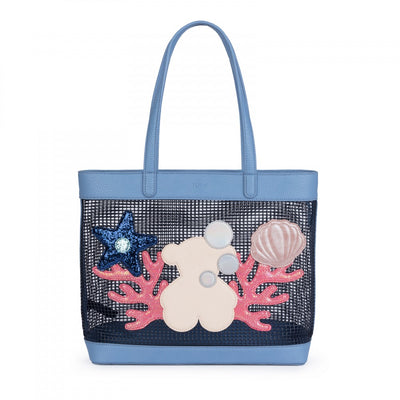 Blue Belmart Sea Shopping bag, Tous