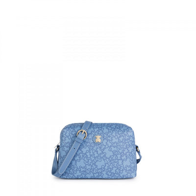 Medium blue Kaos Mini Crossbody bag, Tous