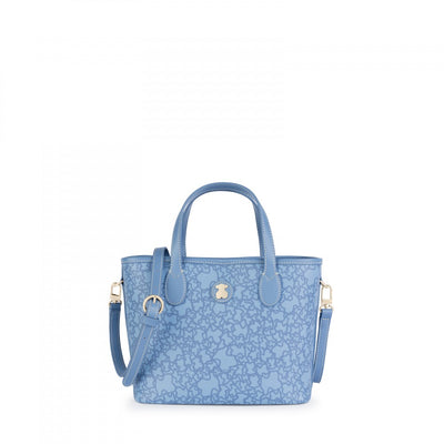 Small blue Kaos Mini Tote bag, Tous