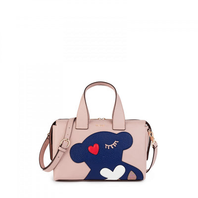 Pink Patch Art Bowling bag, Tous