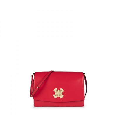 Medium red Leather Rossie Crossbody bag, Tous, Handbag
