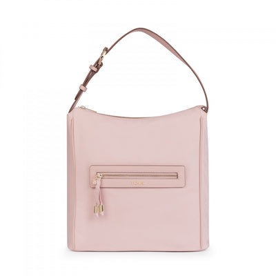 Pink Nylon Brunock Chain Shoulder bag, Tous