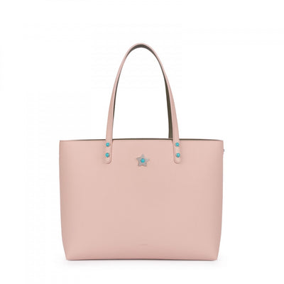 Pink-green Super Power Tote bag, Tous