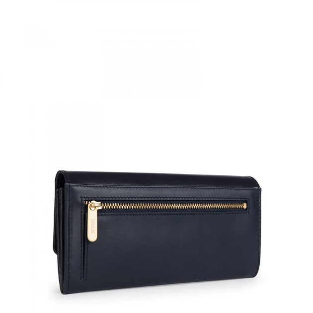 Medium blue Leather Rossie Wallet