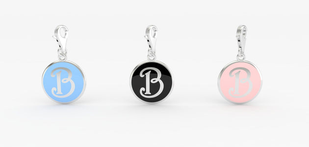 Luv Letter 'B' Bridle Charm
