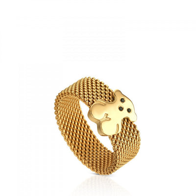 Vermeil Silver Sweet Dolls Ring, Tous
