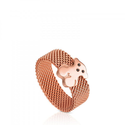 Pink Vermeil Silver Sweet Dolls Ring with Spinel, Tous
