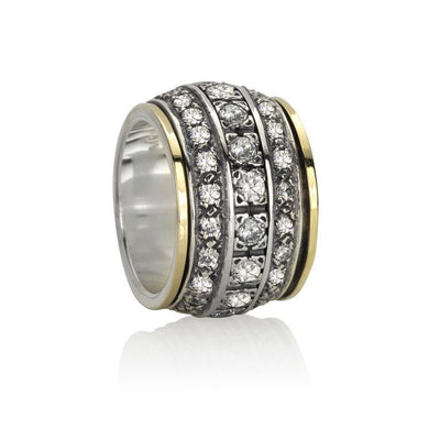 Eternity, Cubic Zirconium Meditation Rings
