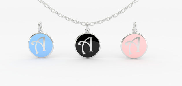 Luv Letter 'A' Pendant