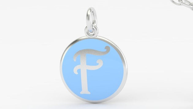 Luv Letter 'F' Pendant