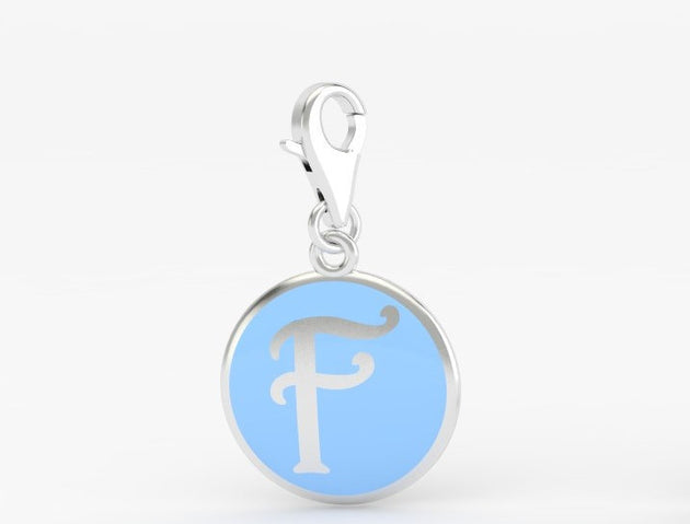 Luv Letter 'F' Bridle Charm