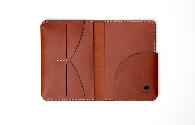 Passport Wallet (Brown)