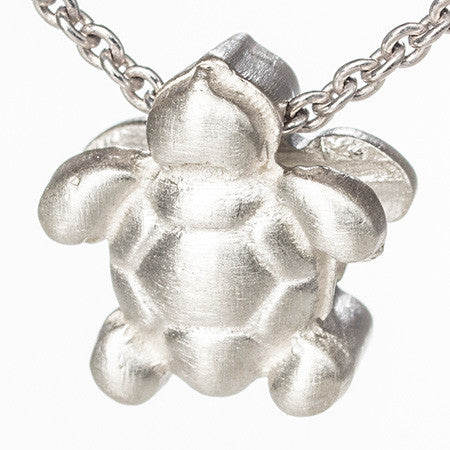 Shining Sea Turtle Pendant