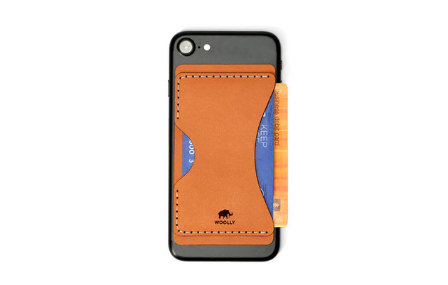 Stick-On Phone Wallet (Natural)