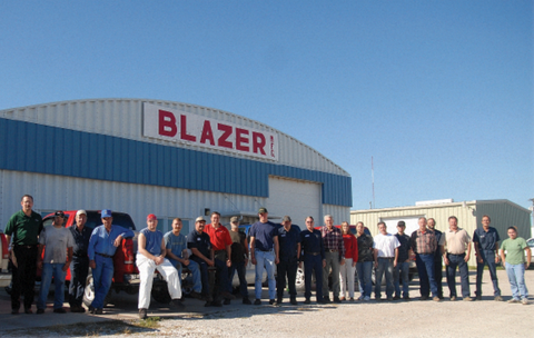 Blazer is a diversified, world-class corporation, specializing in the design and fabrication of athletic equipment