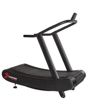 "TRUEFORM Trainer Non-Motorized 17"" Wide Track Shallow Curve Treadmill"
