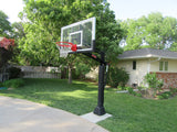 First Team Attack III In Ground Adjustable Basketball Goal