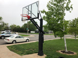 First Team Stainless Olympian Arena Adjustable Basketball Goal