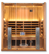 Clearlight Jacuzzi Sanctuary 3 Person Full-Spectrum Infrared Sauna