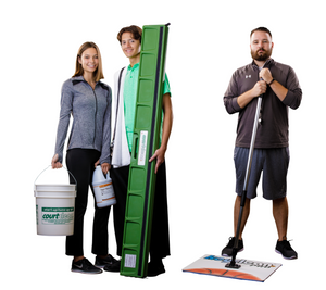 COURTCLEAN Essential Package 6' Damp Mop System For Gym Floors TKH755